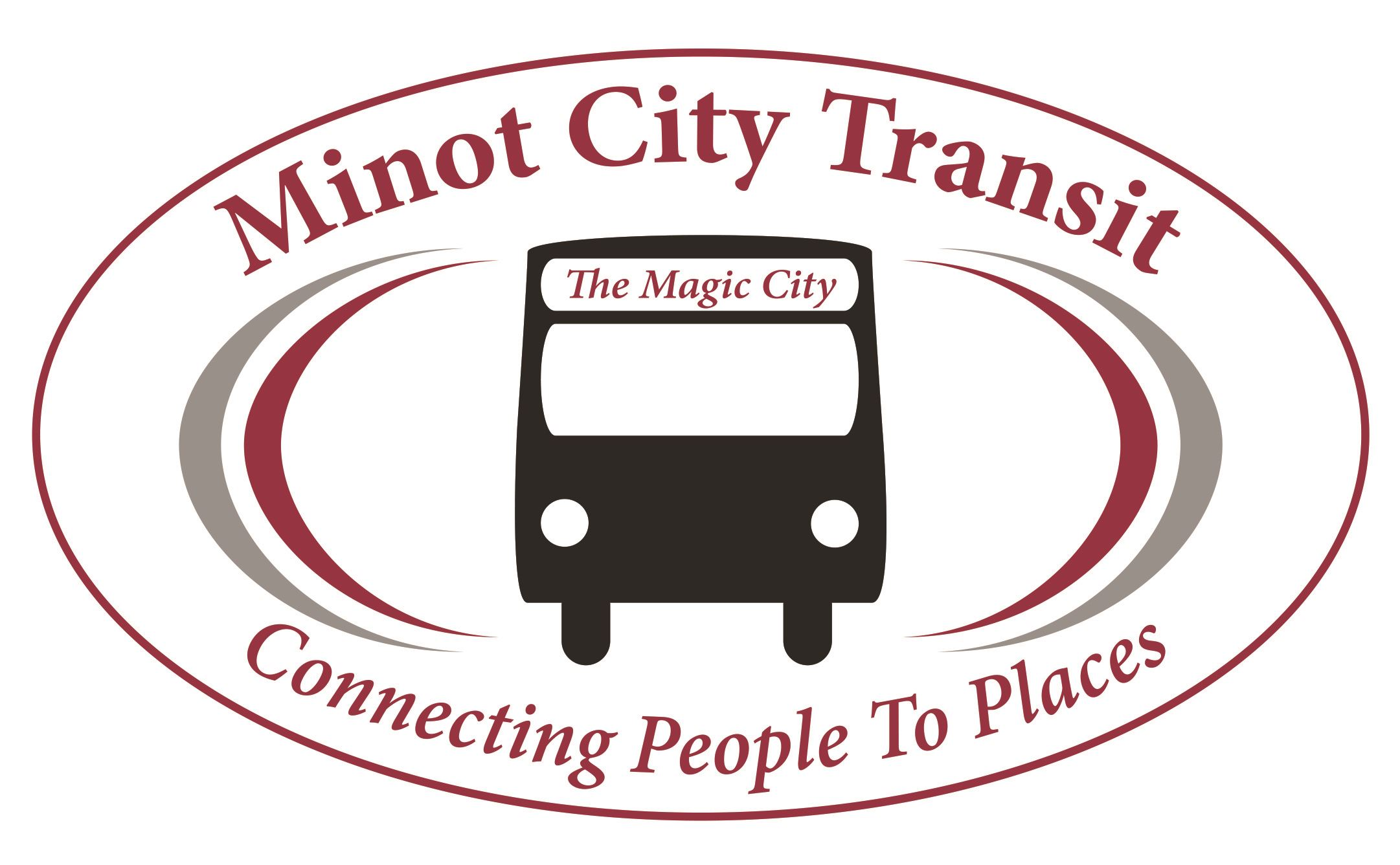 159332 Minot City Transit Logo PMS 194 and Black