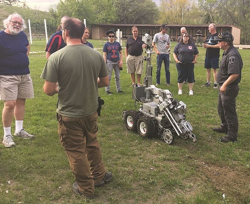 Citizens academy robot