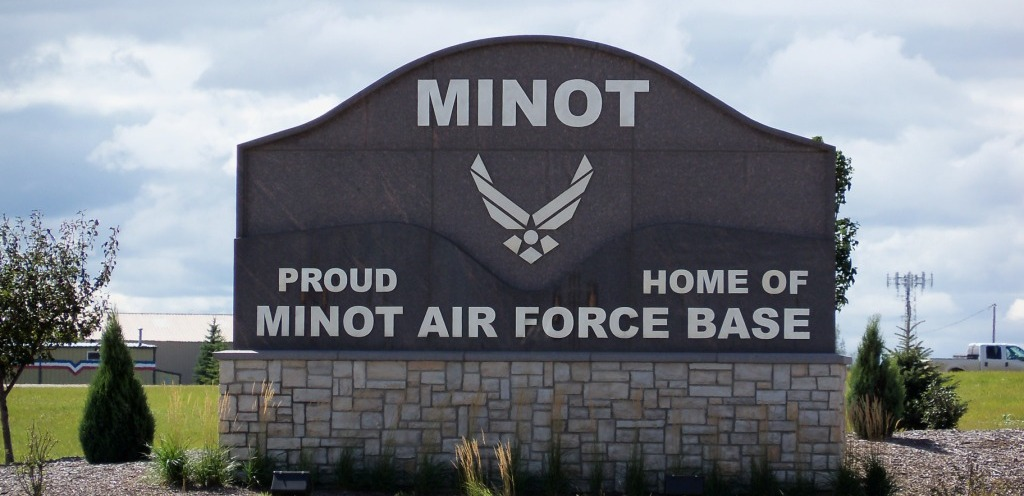 Proud Home of Minot Air Force Base 3